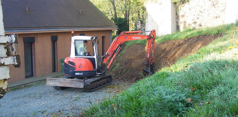 Divers travaux de terrassement
